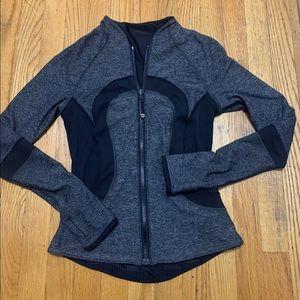Grey/black Reversible Lululemon Jacket